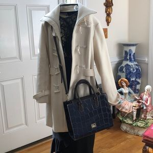 LIKE NEW  Dooney &Bourke Croco Collection